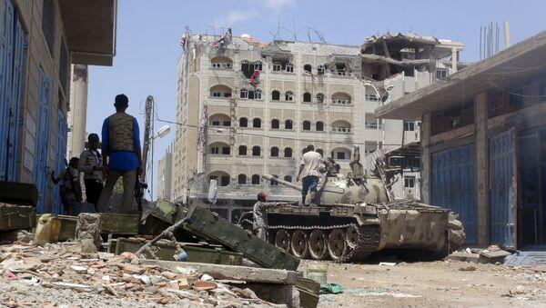 Jemen, Aden, maj 16, 2015 - Sputnik Polska