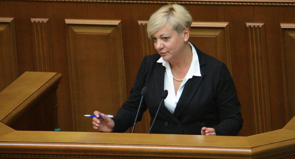 Szefowa Ministerstwa Finansów Ukrainy Walerija Gontariewa