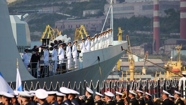 Rosyjsko-chińskie ćwiczenia Morskie współdziałanie 2015 - Sputnik Polska