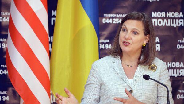 Podsekretarz stanu USA Victoria Nuland - Sputnik Polska
