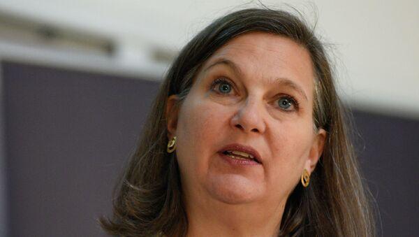 Podsekretarz stanu USA ds. Europy i Eurazji Victoria Nuland - Sputnik Polska