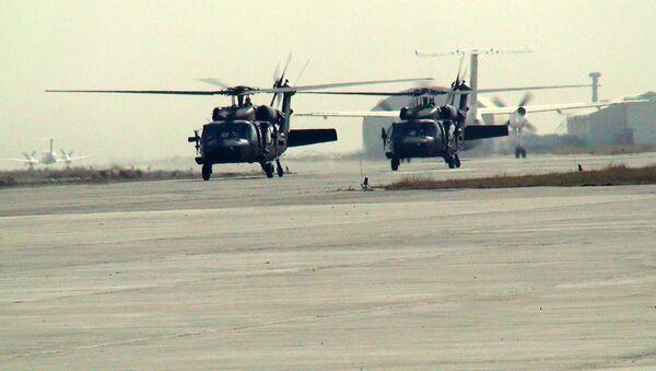 Śmigłowce ISAF w Afghanistanie - Sputnik Polska