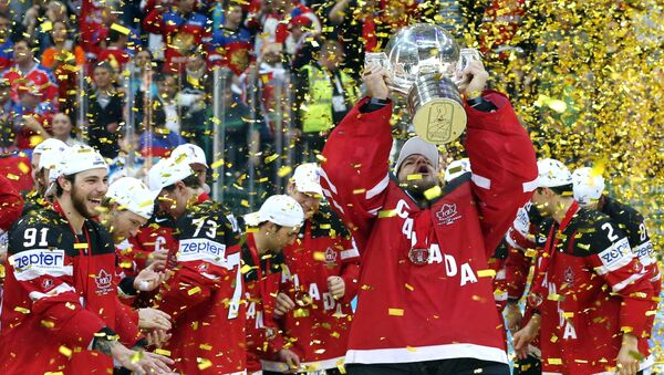 Hokej. The World Cup - 2015. Finał. Kanada - Rosja - Sputnik Polska
