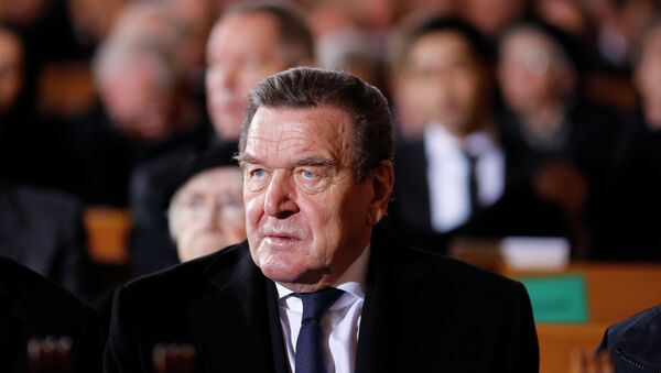 Były kanclerz Niemiec Gerhard Schroeder - Sputnik Polska