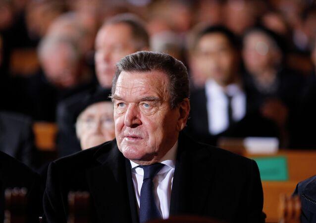 Były kanclerz Niemiec Gerhard Schroeder