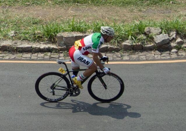 Irański kolarz Bahman Golbarnezhad