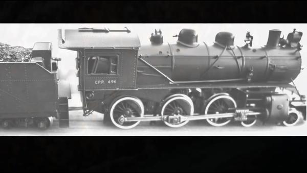 Lokomotywa, która zatonęła w 1910 roku - Sputnik Polska