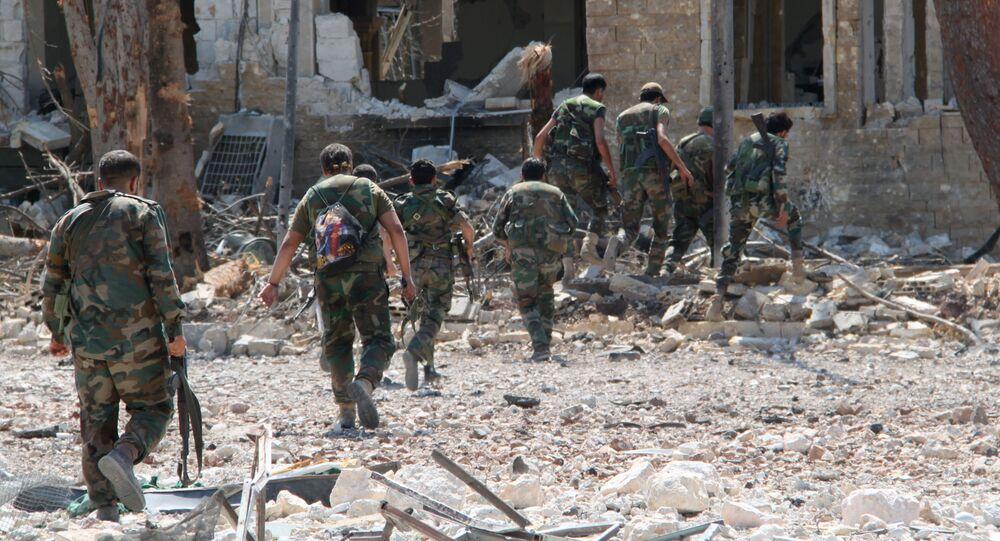 Syryjska armia odbiła z rąk terrorystów terytorium akademii wojskowych w Aleppo