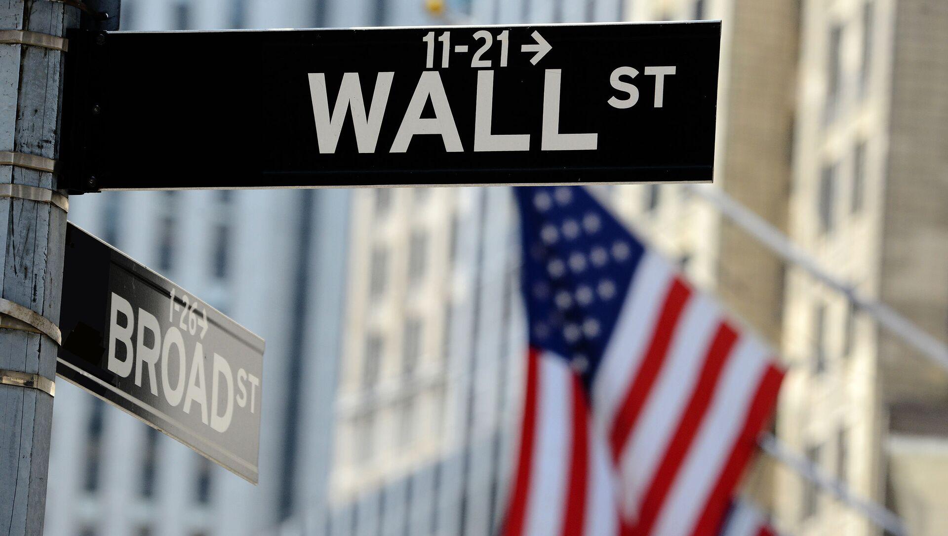 Wall Street w Nowym Jorku - Sputnik Polska, 1920, 06.05.2021