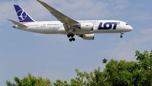 Samolot Boeing 787 PLL LOT - Sputnik Polska