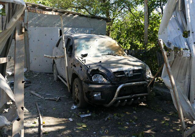 Konsekwencje nocnego ostrzału Makiejewki w DRL