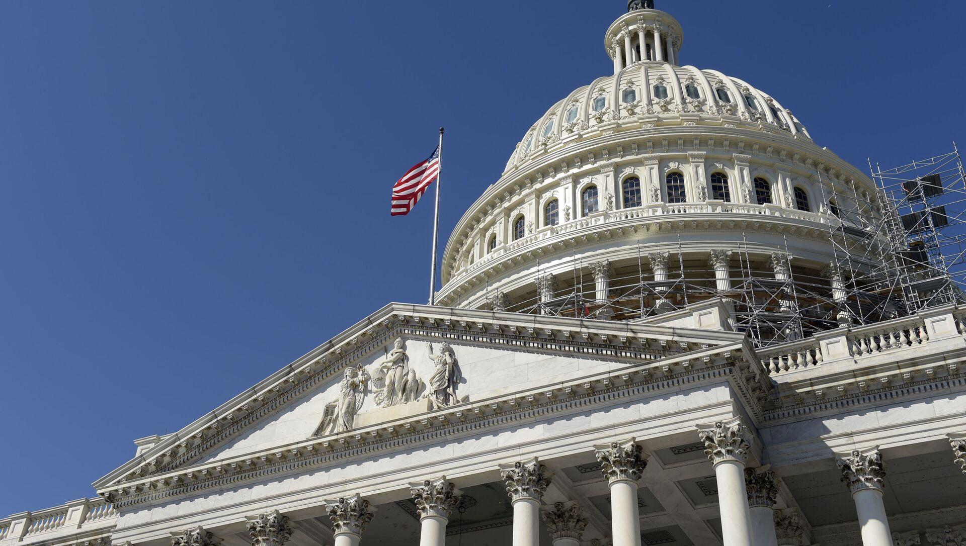Kongres Stanów Zjednoczonych w Waszyngtonie - Sputnik Polska, 1920, 10.03.2021