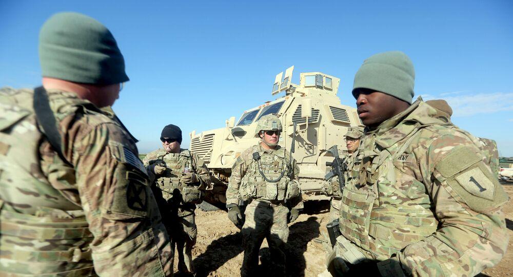 Amerykańscy żołnierze w Iraku