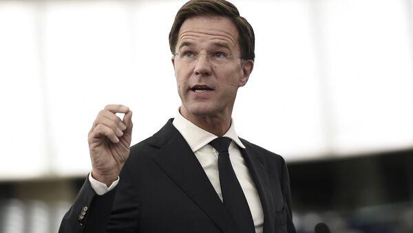 Holenderski premier Mark Rutte - Sputnik Polska