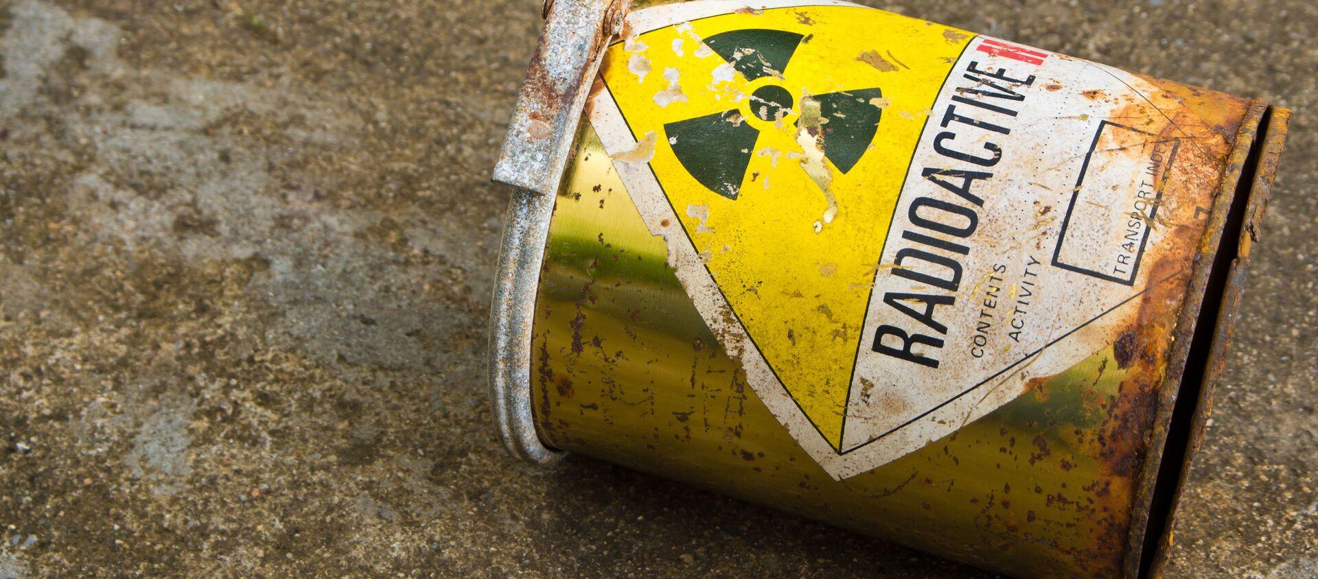 Pojemnik z radioaktywną substancją - Sputnik Polska, 1920, 27.04.2021