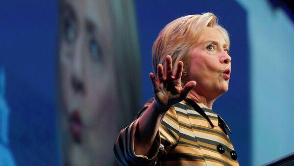 Kandydatka Demokratów na prezydenta Stanów Zjednoczonych Hillary Clinton, - Sputnik Polska