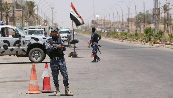 Ataki samobójcze w pobliżu miasta Tikrit, 150 km na północ od Bagdadu - Sputnik Polska