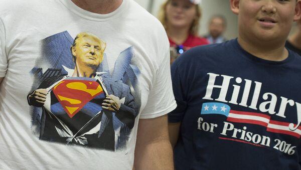 Co powinien zrobić Trump, by pokonać Clinton? - Sputnik Polska