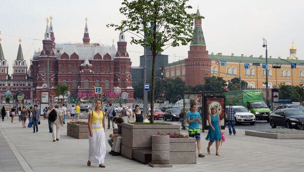 Ulica Twerska w Moskwie - Sputnik Polska