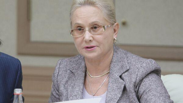 Szefowa rosyjskiego Międzypaństwowego Komitetu Lotniczego (MAK) Tatiana Anodina - Sputnik Polska