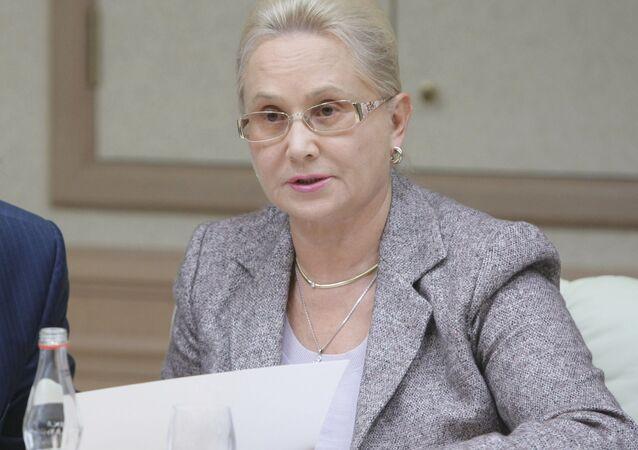 Szefowa rosyjskiego Międzypaństwowego Komitetu Lotniczego (MAK) Tatiana Anodina