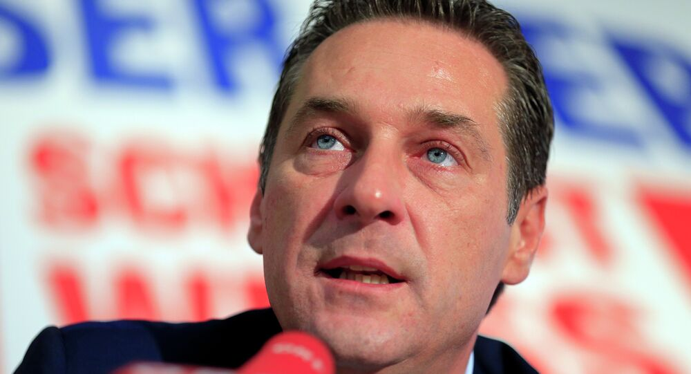 Szef FPÖ Heinz-Christian Strache