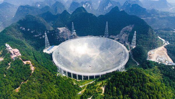 Radioteleskop FAST w Chinach - Sputnik Polska