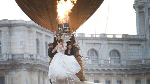 Ślub w balonie - Sputnik Polska
