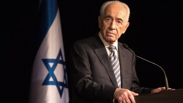 Były prezydent Izraela Szimon Peres. 2014 rok. - Sputnik Polska