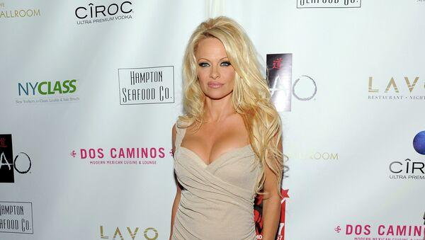 Pamela Anderson, gala w Nowym Jorku - Sputnik Polska