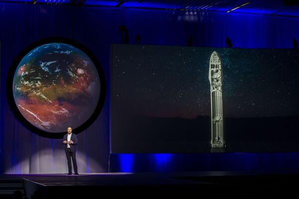 Założyciel i Dyrektor Generalny Tesla i SpaceX Elon Musk - Sputnik Polska
