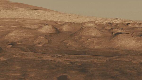 Krater Gale na Marsie - Sputnik Polska