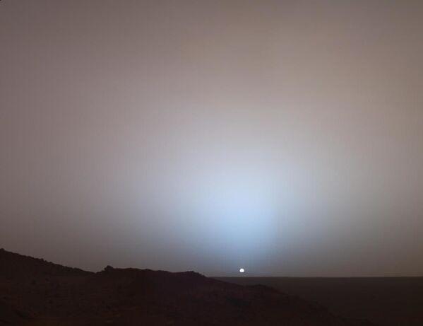 Zachód słońca na Marsie - Sputnik Polska