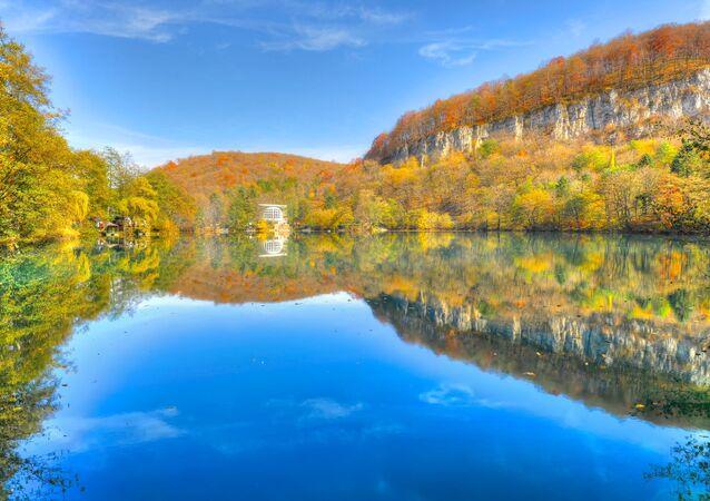 Jezioro Błękitne w Kabardo-Bałkarii