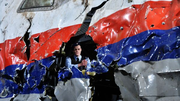 Rekonstrukcja katastrofy MH17 - Sputnik Polska