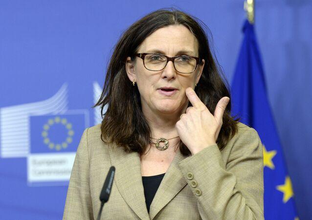 Europejska komisarz ds. handlu Cecilia Malmstrom