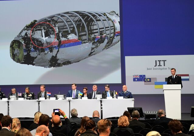 Ogłoszenie wstępnego raportu międzynarodowego zespołu śledczych, badających katastrofę samolotu pasażerskiego MH17 nad Ukrainą z 17 lipca 2014 roku