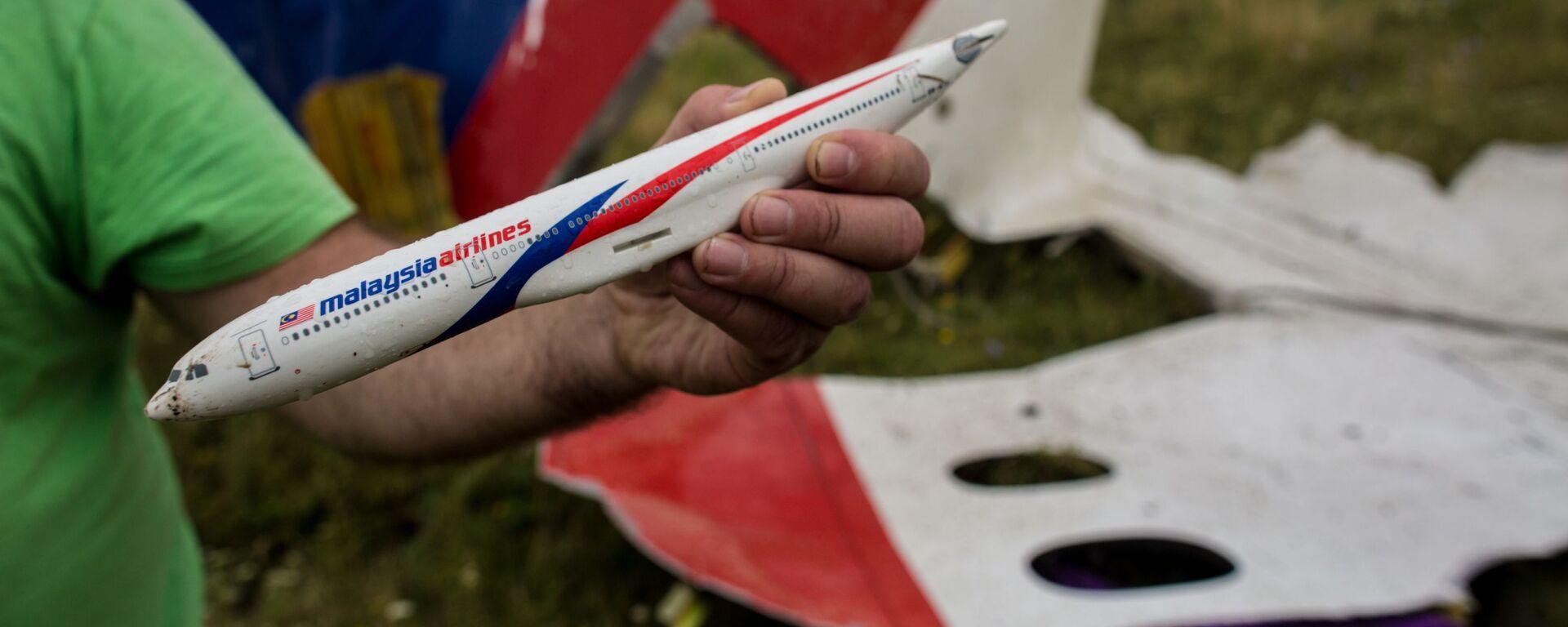 Katastrofa Boeinga 777 nad Donbasem - Sputnik Polska, 1920, 09.06.2021