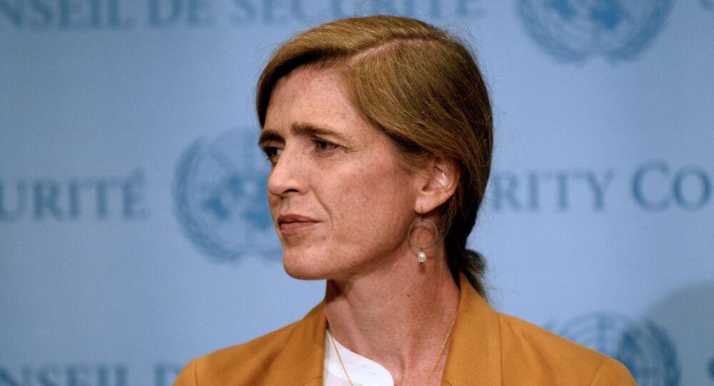 Ambasador USA przy ONZ Samantha Power