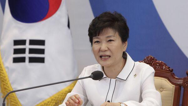 Prezydent Park Geun-hye - Sputnik Polska