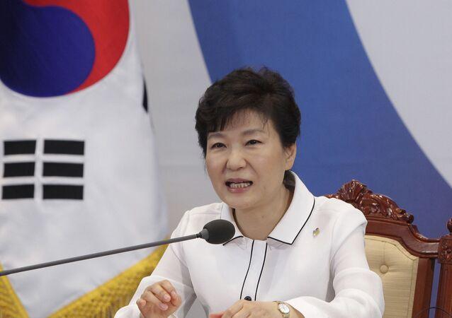 Prezydent Park Geun-hye