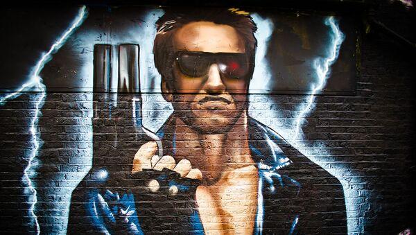 Piratem - rowerzystą na dworcu w Monachium okazał się Schwarzenegger - Sputnik Polska