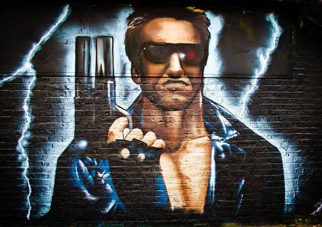 Piratem - rowerzystą na dworcu w Monachium okazał się Schwarzenegger