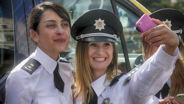 Narodowa Policja Ukrainy - Sputnik Polska