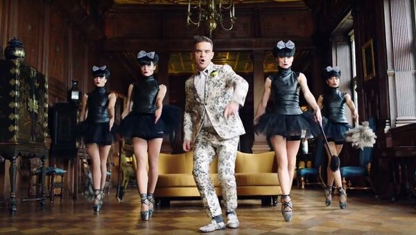 Robbie Williams, Party like a Russian - Sputnik Polska