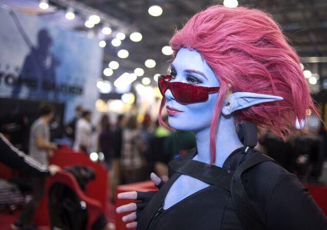 Cosplayerka na Comic Con Russia 2016