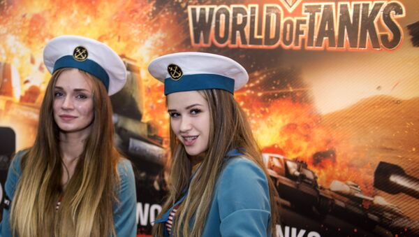 Uczestnicy festiwalu Comic Con Russia-2016 w Moskwie - Sputnik Polska