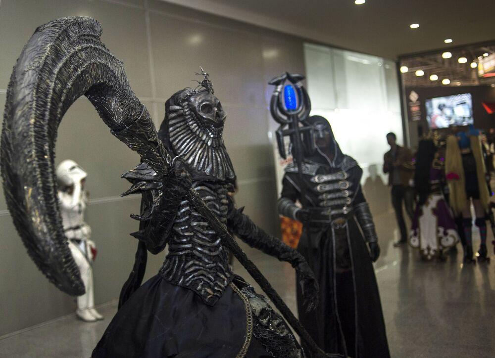 Cosplayerzy na Comic Con Russia 2016