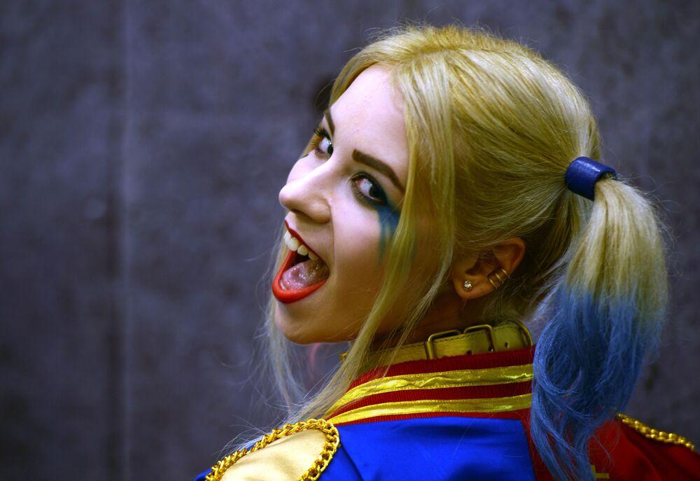 Harley Quinn na Comic Con Russia 2016