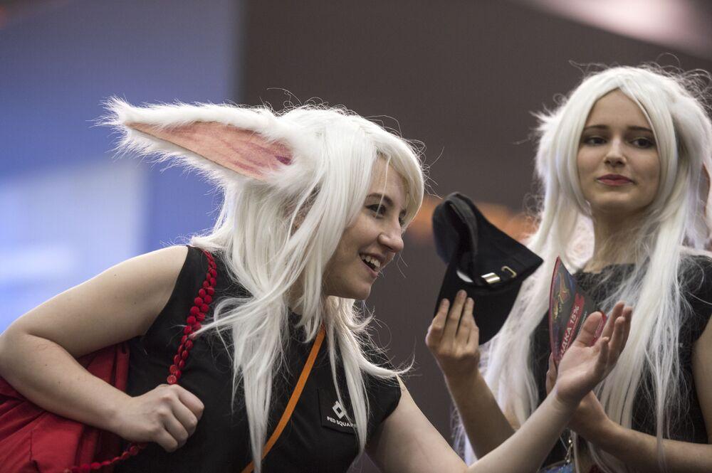 Cosplayerki na Comic Con Russia 2016